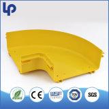 Bandeja da fibra do canal adutor da fibra de Retardent da flama do ABS do PVC de UL2024 UL94-V0