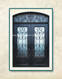 家のために外部カスタム鉄のドアの前部