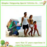 يتيح لفّ [أولترا] يوسع عجلة شاطئ عربة مع شبكة تخزين