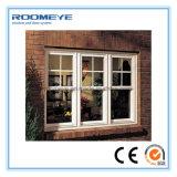 Material del marco de la aleación de aluminio y ventana de desplazamiento de aluminio de Vetical del modelo vertical de la apertura
