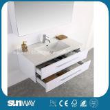 Vanité chaude de salle de bains de type de l'Europe de vente avec le Module de miroir (SW-1307)