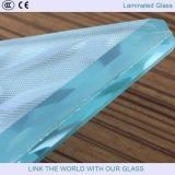 Verre laminé mural / verre stratifié décoratif / verre feuilleté partiel