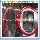 автоклав 2650X5000mm аттестованный Ce стеклянный для лобового стекла шины