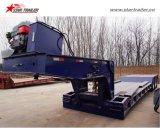 Трейлер Lowbed Gooseneck передней загрузкы гидровлический для 80-120ton