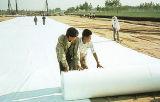 Nicht gesponnenes Polyesterwasserdichtes Geotextile-Material