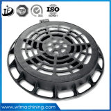 EN124 arena de fundición de hierro dúctil de la cubierta de boca / Tapas de registro de tapas de desagüe