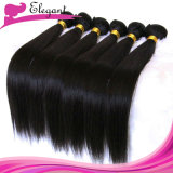 волосы девственницы волос ферзя 5A перуанские прямо соткут 20inches