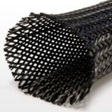 Manicotto Braided della fibra del carbonio di alta qualità