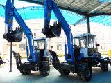 5 toneladas 0.25 excavadores de la rueda del motor de Yto del compartimiento M3 mini