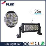 36W conjuguent barre d'éclairage LED de lumières pilotantes de véhicule d'éclairage LED de rangée