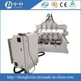 Quattro macchina per incidere di CNC degli assi di rotazione 3D di asse 4