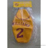 Baloncesto de goma promocional de la insignia de encargo