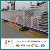 Frontière de sécurité provisoire galvanisée de frontière de sécurité de maillon de chaîne/frontière de sécurité provisoire de construction