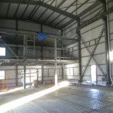 Het geprefabriceerde Pakhuis van de Opslag van de Structuur van het Staal met de Bouw van het Bureau