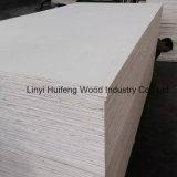 18m m blanquearon la madera contrachapada del uso de los muebles de la madera contrachapada de la cara del álamo