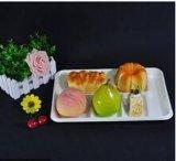 Conditionnement des aliments de empaquetage biodégradable remplaçable d'aliments surgelés avec 6 compartiments