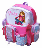 Das meninas novas do poliéster de Desgin da forma saco de escola
