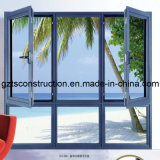 Customzied Double Glazing Aluminium Casement Window mit Roller Shutter