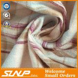 熱い販売の格子縞のワイシャツのためのヤーンによって染められるコットンフランネルファブリック