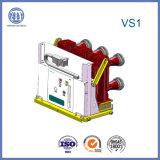 Disjuntor de vácuo patenteado de 17.5kv-630A Vs1 triplo com patente patenteada