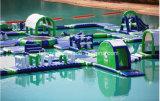 販売のための巨大で膨脹可能な水公園の運動場