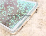 Caixa líquida acessória por atacado do Quicksand da areia da estrela do telefone móvel de China para o iPhone 5/6 de caso da tampa do telefone de pilha