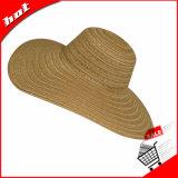 Chapéu Floppy Large Large Brim Summer Beach Straw Sun Hat