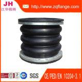 Junta de dilatación de goma flexible de alta presión de Belows con el borde contrario