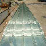 Panneaux en plastique de tuile de mur de toit de feuille de vent d'éclairage transparent de la résistance FRP