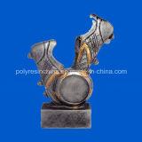 Подгонянный трофей Polyresin для футбола награждает корабли