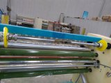 Découpeuse nommée superbe Rewinder de la gomme Gl-215 prouvée par TUV