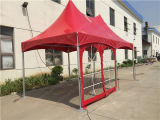 тени торговой выставки 3X6m конструкция шатра сени самомоднейшей напольной алюминиевой красная