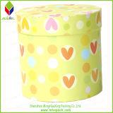 Boîte de empaquetage ronde à sucrerie de cadeau de carton coloré