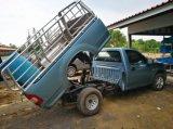 De enige Aanhangwagen van de Stortplaats van de Hydraulische Pomp van het Acteren 12V - het Doorzichtige Reservoir van 6 Kwart gallon