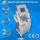A máquina a mais nova da remoção do cabelo do laser do ND YAG do IPL RF (Elight03)