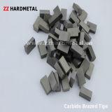 O carboneto de tungstênio soldou as pontas (E12)