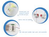 Уплотнение метра кода штриховой маркировки пластичное с прозрачным случаем