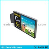 LED de la calle Solar Powered Display Light Box Sign