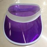 Крышка забрала PVC прозрачная Sun изготовленный на заказ пурпурового цвета