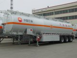 50000L de Semi Aanhangwagen van de Tanker van de Brandstof van het Koolstofstaal
