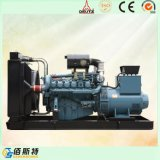 Usine génératrice de puissance de jeu de série de moteur diesel de la Chine 500kVA Baudouin