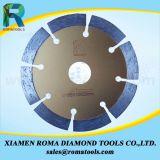 "Romatools 4 "" 작은 다이아몬드는 톱날 세그먼트 잎을"