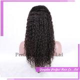 Парик шнурка плотности высокого качества 180% полный с волосами младенца