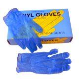Перчатки Смотровые (диагностические), Виниловые, Нестерильные, Одноразовые, Неопудренные, Гладкие,голубые