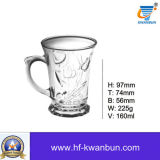 ビールのジョッキのティーカップのよいガラスコップの台所用品のKbHn01199