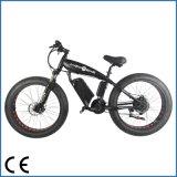 리튬 건전지 10ah 뚱뚱한 타이어 바닷가 함 48V 500W 전기 자전거 (OKM-1283)