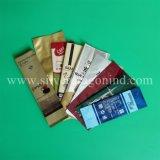 Sacos de café de alumínio provados FDA do reforço com válvula