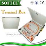 Caixa de aço de Ffth da caixa terminal de 8 núcleos