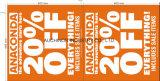 Знамя напечатанное LDPE/HDPE