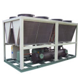 Refrigerador de água refrigerado comercial de refrigeração da capacidade do compressor do rolo de Maneurope Digital ar variável